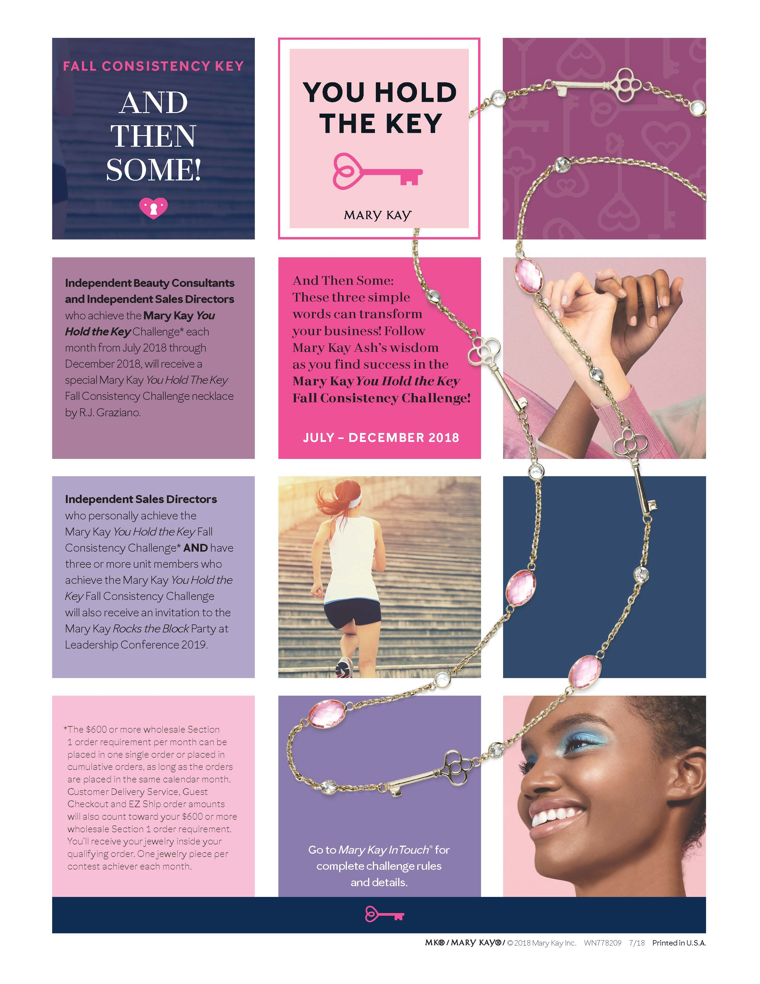 Mary Kay Christmas 2019 Ordering Incentives: Mary Kay Consistency Club – Pink Truth