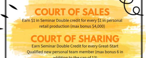 Mary Kay Double Credit (Again)