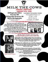 Caption This Photo: Linda Toupin Milk the Cows