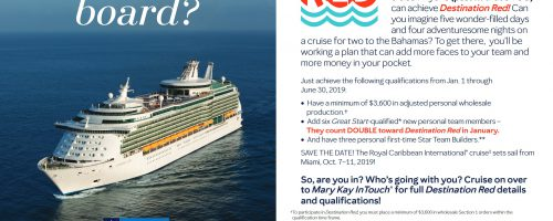 Thousands Win Mary Kay Cruise!