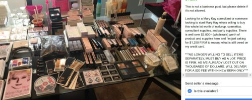 Losing Money on Mary Kay Inventory