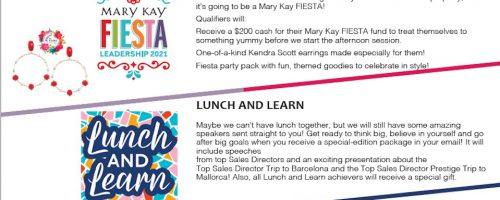 Mary Kay Leadership Conference 2021