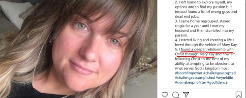 Taylor McKnight Wants to Be a Mary Kay NSD